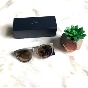 J. Crew Sam Round Women Sunglasses NWT & Box